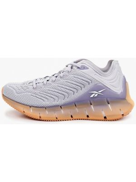 Фиолетовые текстильные кроссовки Reebok