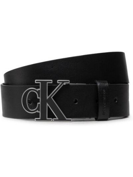 Pasek z paskiem - czarny Calvin Klein Jeans