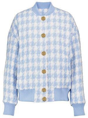 Белая хлопковая куртка Balmain