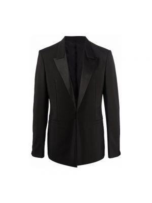 Kurtka wełniana - czarna Givenchy