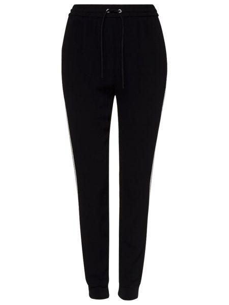 Черные брюки из вискозы Zoe Karssen