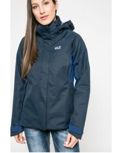 Куртка с капюшоном с карманами утепленная Jack Wolfskin