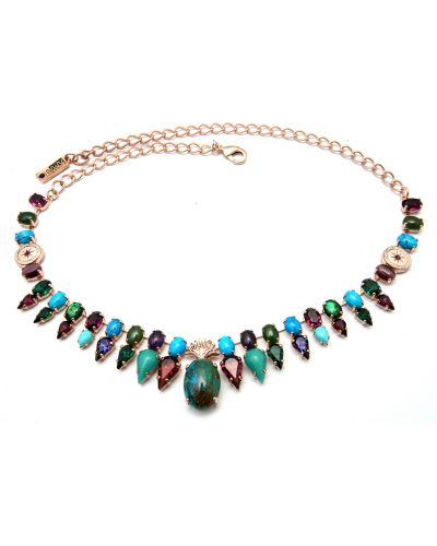 Зеленое ожерелье Amaro