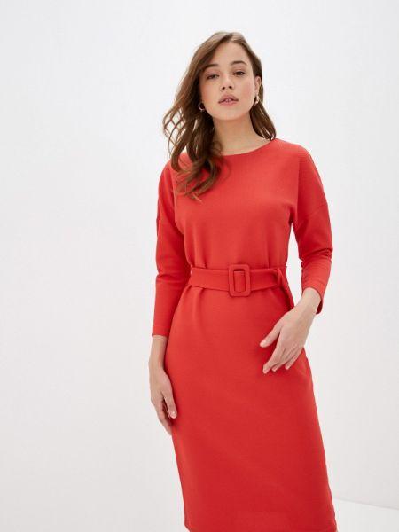 Платье коралловый прямое Concept Club