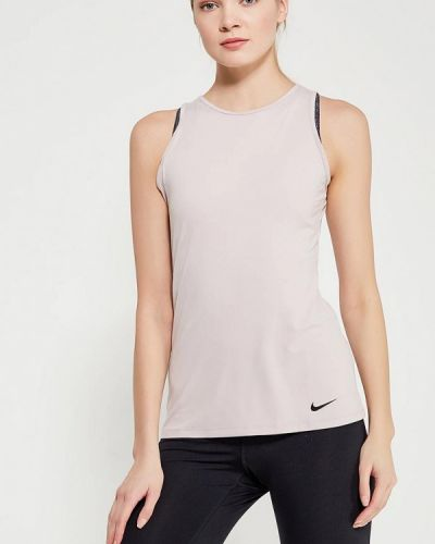 Розовая майка спортивная Nike