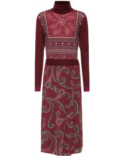 Платье миди шерстяное Etro