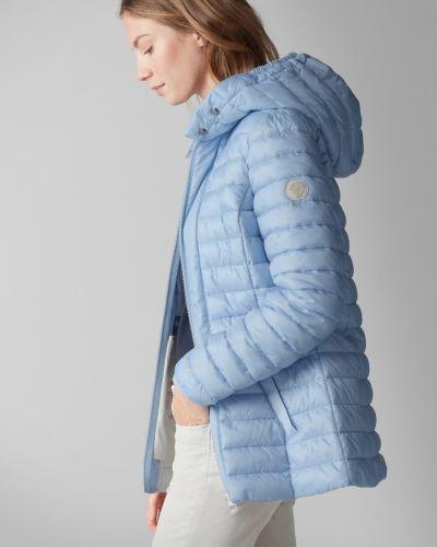 С рукавами теплая стеганая куртка на молнии Marc O' Polo