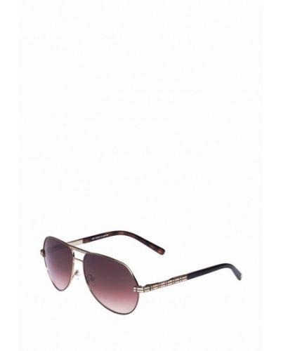 Солнцезащитные очки золотого цвета Enni Marco