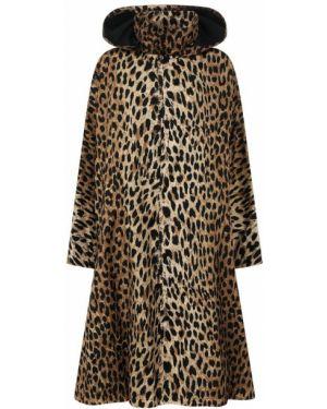 Пальто с принтом пальто Balenciaga