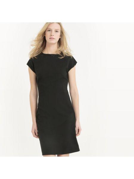 Платье мини с вырезом из вискозы La Redoute Collections