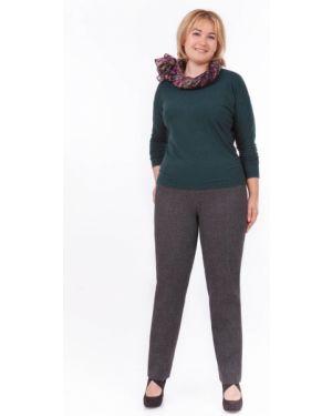 Шерстяные повседневные брюки с поясом Palla
