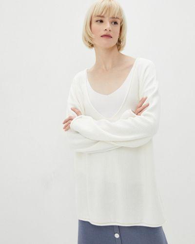 Пуловер - белый Katya Erokhina