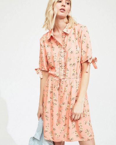 Платье розовое платье-рубашка Miss Selfridge