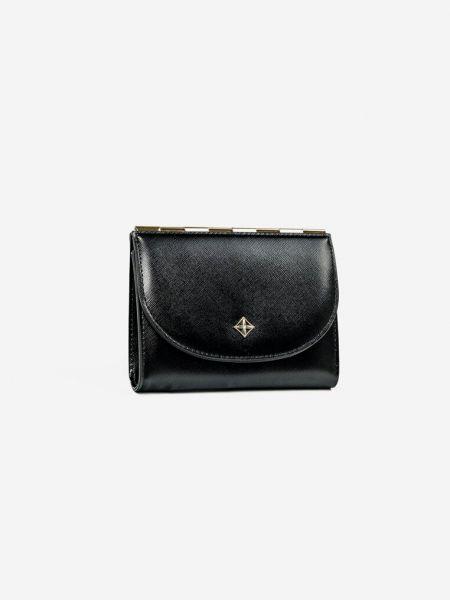 Czarny portfel Renee