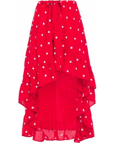 С кулиской хлопковое платье с вышивкой Sundress