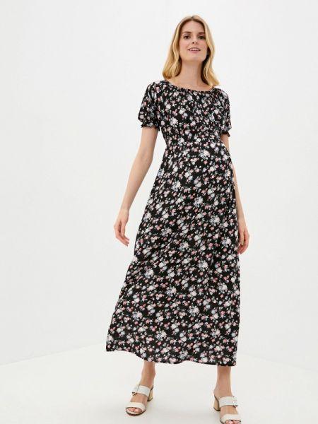 Платье прямое черное Mammysize