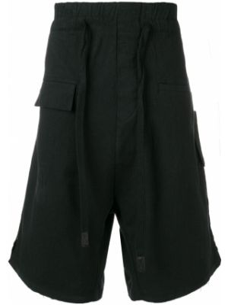 Черные шорты карго с карманами 10sei0otto
