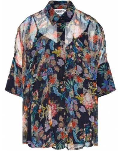 Блузка с цветочным принтом спущенная Essentiel Antwerp