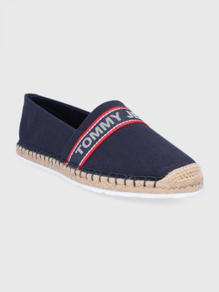 Джинсовые эспадрильи Tommy Jeans