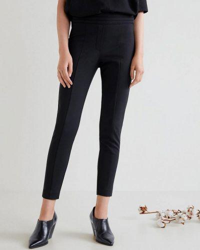 Черные брюки Mango