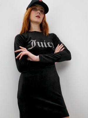 Платье-футболка - черное Juicy Couture