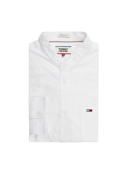 Koszula z długim rękawem dżinsowa Oxford Tommy Jeans