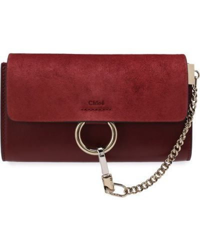 Маленькая сумка кожаный вечерняя Chloé
