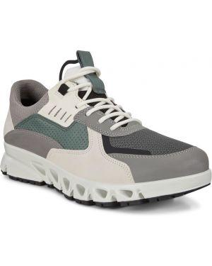 Текстильные кроссовки с подкладкой на шнурках Ecco