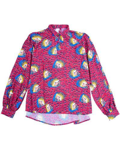 Różowa koszula nocna Stella Jean