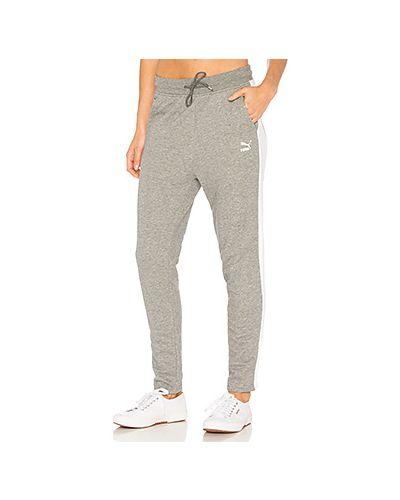 Классические брюки с карманами флисовые Puma