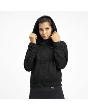 Кожаная куртка с капюшоном спортивная Puma