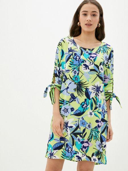 Повседневное платье весеннее зеленый Betty Barclay