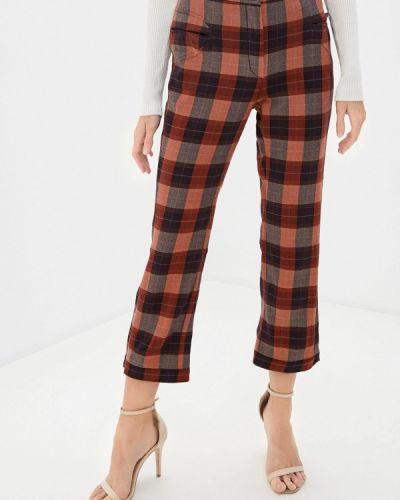 Повседневные коричневые брюки Trussardi Collection