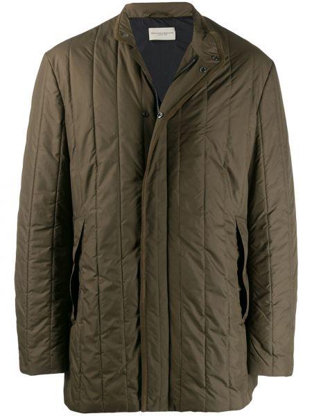 Прямая куртка на пуговицах с карманами с воротником Holland & Holland