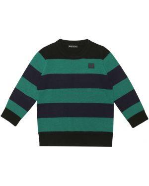 Черный свитер Acne Studios Kids