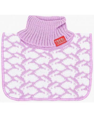 Фиолетовый шарф Tutu