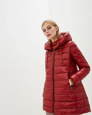 Зимняя куртка осенняя красная Duno