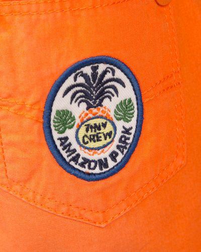 Оранжевые шорты Original Marines