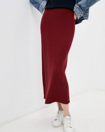 Бордовая зимняя юбка Max Mara Leisure