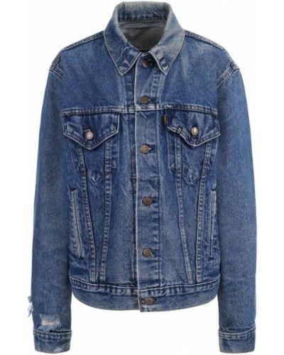 Джинсовая куртка свободная хлопковая R13