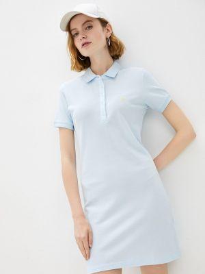 Платье - голубое Giorgio Di Mare