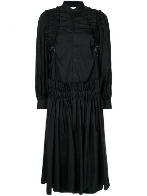 Платье свободного кроя - черное Comme Des Garçons Noir Kei Ninomiya