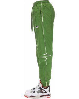Zielone spodnie bawełniane Deadnight