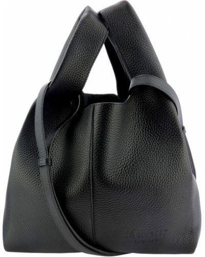 Czarna torebka skórzana Mulberry
