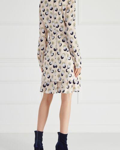 Платье винтажная платье-рубашка Carven