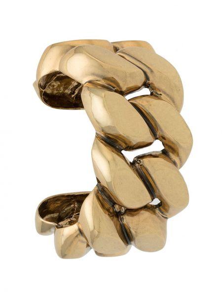 Золотистый желтый браслет металлический à La Garçonne