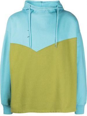 Niebieski pulower z kapturem z długimi rękawami Levis Made & Crafted
