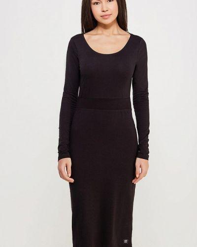 Черное платье с длинными рукавами Cheap Monday
