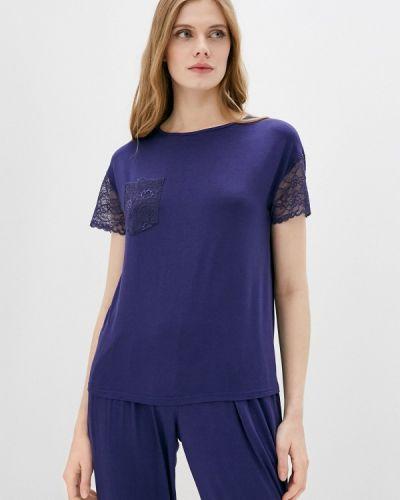 Домашняя фиолетовая футболка Petit Pas