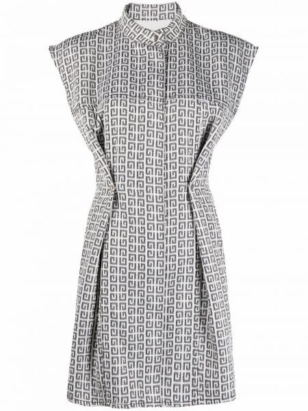 Sukienka mini bawełniana - biała Givenchy